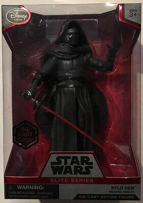 New Disney Store Star Wars Elite Series Kylo Ren Die Cast Action Figure *Mint*