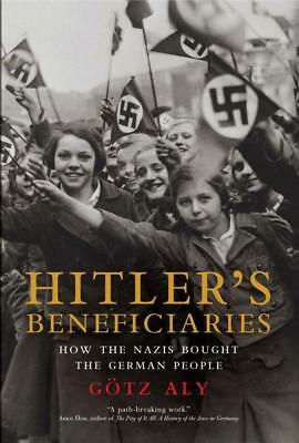 NEW Hitler's Beneficiaries By Gotz Aly Paperback Free Shipping
