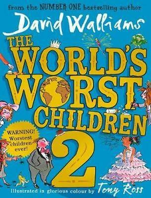 NEW The World's Worst Children 2 By David Walliams Paperback Free Shipping