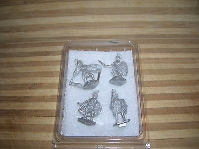 25Mm Roman Soldiers  Metal Miniatures 1980's  Hh Toy