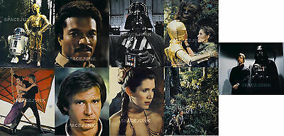 STAR WARS: RETURN OF THE JEDI Lobby Cards (10.2 x 14 Inches) Complete Set of 9