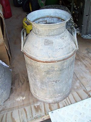 Vintage Rare Gulf Oil Galvinized Gulf Refining Co. Can