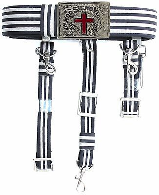 KNIGHTS TEMPLAR Sword Belt & Buckle for Waist Size 52 TOP QUALITY FREE SHIPPING