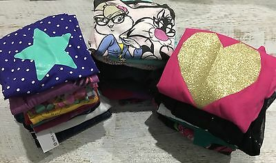 Girls Sz 7 - 8 Clothing Bundle  , Lee Denim Skirt , 3 Tops New With Tags