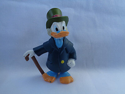 Disney 2002 PMI Uncle Scrooge McDuck PVC Figure or Cake Topper - Rare