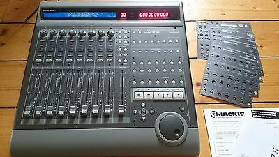Mackie Control Universal 8-Channel Master MIDI Mixer Control Surface