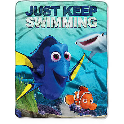 Disney Finding Dory, Just Keep Swimming Throw by Pixar