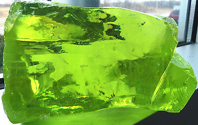 Peridot 17,300 Carats Cubic Zirconia Facet Rough