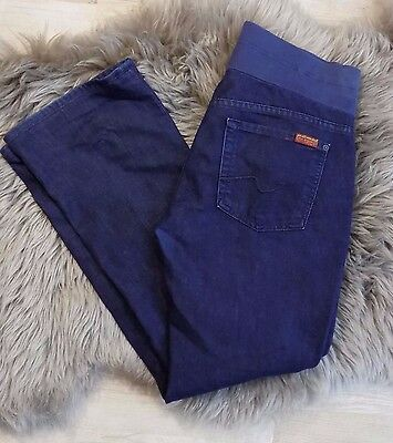 7FAM Seven for All Mankind the Lexie  Maternity Bootcut Jeans dark wash  28P