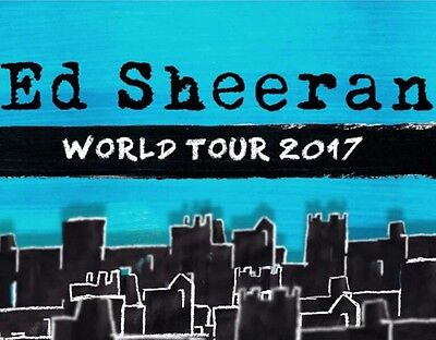 Ed Sheeran Tickets | Melbourne | Ga Floor Rear | Fri 9Th March | Sold Out
