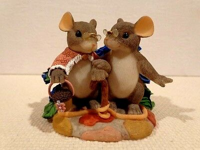 """Fitz & Floyd Charming Tails """"My Love For You Will Never Grow Old"""" Item : 89/138"""