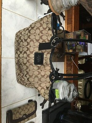 Coach Purse And Accessories Lot