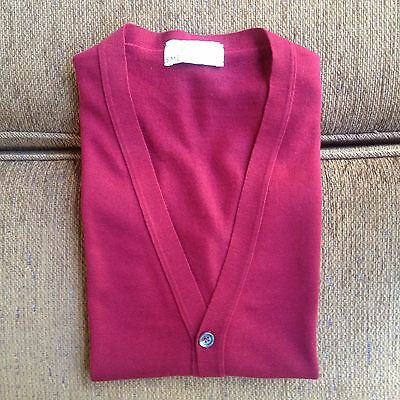 John Smedley 100% Pure New Wool Mens Vest Size L Made In England