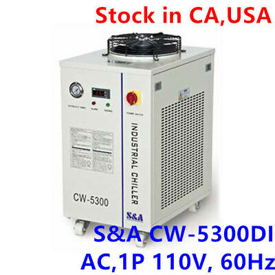 S&A USA-110V 60HZ CW-5300DI Industrial Water Chiller for Single 200W CO2 laser