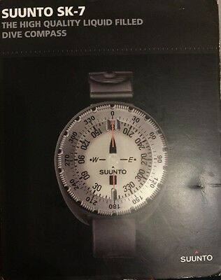 Suunto SK7 High Quality Liquid Filled Compass NEW