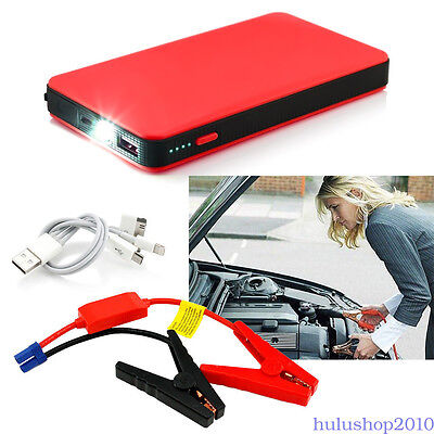 12V Car Vehicle Jump Starter 20000mAh Portable Battery Power Bank Booster Charge