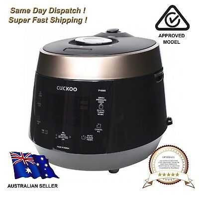 NEW Cuckoo 10 Cup Pressure Cooker CRP-P1009S / 240V
