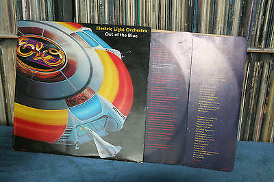 """Electric Light Orchestra """" Out Of The Blue """" Jet Records Double 1977 Uk"""