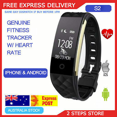 Fitness Heart Rate Sport Sleep Activity Tracker Fitbit Style Wristband pedometer