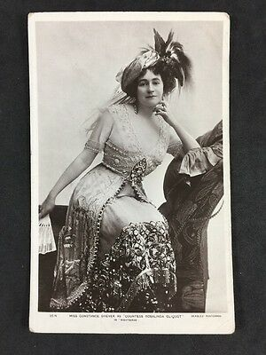 Vintage Postcard: Actress #101: Miss Constance Drever In Nightbirds : J Beagles