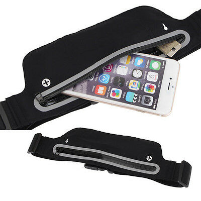 Unisex Waist Belt Bum Bag Jogging Running Travel Keys Mobile Money Bicycle Pouch