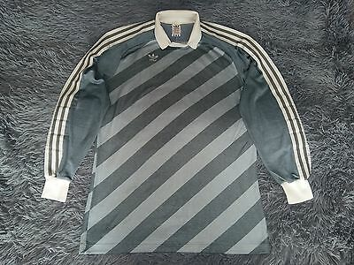 Adidas vintage West Germany 80s grey GK shirt size L