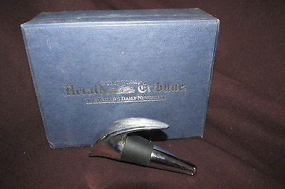 Bottle Stopper in Presentation Box The Herald Tribune The Worlds Daily Newspaper