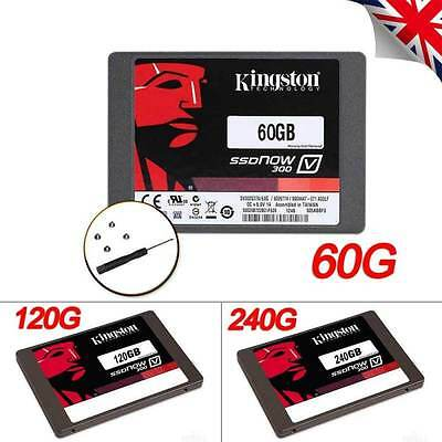 "Kingston SSDNow V300 2.5"" 60GB 120GB 240GB SSD SATA 3/III Solid State Drive UK"