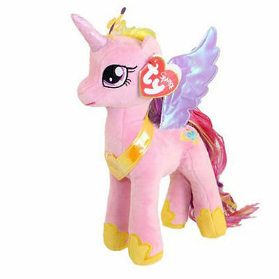 """Ty Beanie My Little Pony Princess Cadance Collectible 7"""" Soft Toy (RRP 8.99)"""