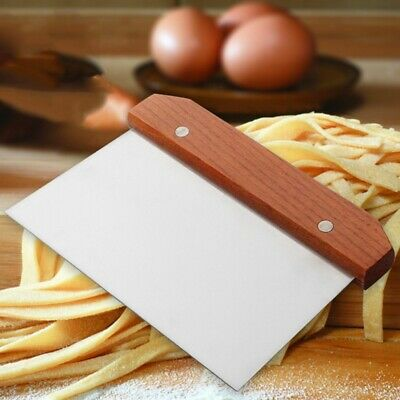 Newest Pizza Cutter Dough Scraper Pancake Slicer Pastry Cake Baking Chopper Tool