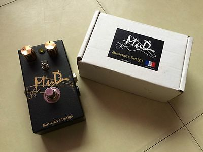 Pedal The MUD Overdrive Guitar Musician's Design (Fabrication française)
