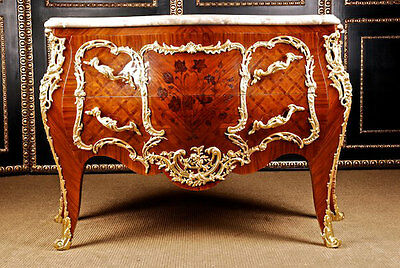 High Quality French Dresser Sideboard Wardrobe in the Louis Quinze Baroque Style