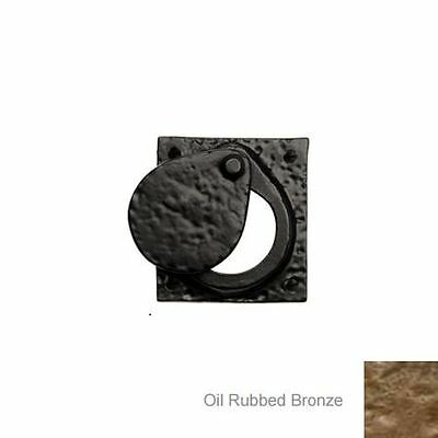 57mm x 57mm Cylinder Latch Cover - Oil Rubbed Bronze
