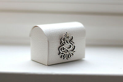 White Chest Indian Wedding Favours Gift Box Sanji Reception