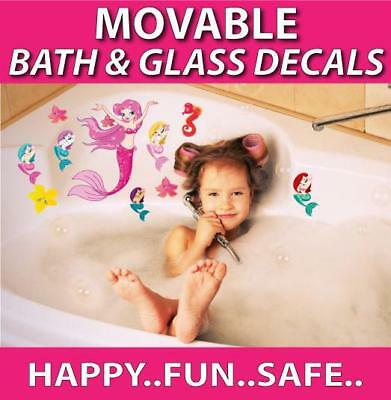 Mermaids Movable Bath Stickers