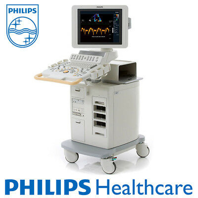 Philips HD11-XE Ultrasound Machine System with Convex Linear Vaginal Probes