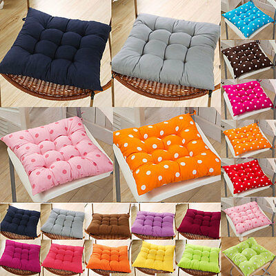 Soft Indoor Dining Garden Patio Home Kitchen Office Chair Seat Pads Cushion Dec