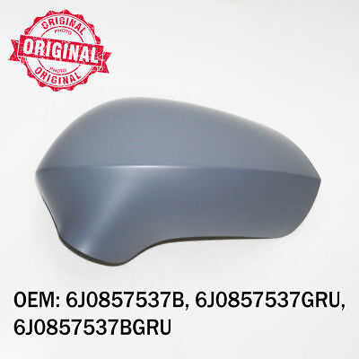 Left Side Wing Mirror Cover Cap Primed Casing For Seat Exeo Ibiza 2008 onwards