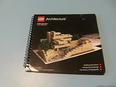 lego Architecture Fallingwater Building Instructions Manual