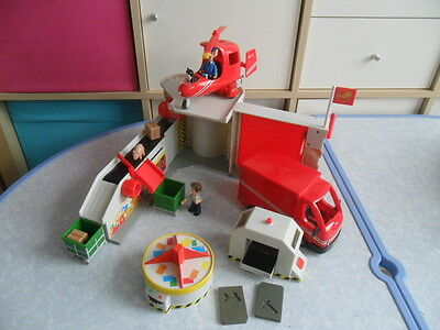 Postman Pat Deluxe SDS Special Delivery Sorting Office Helicopter & Talking Van