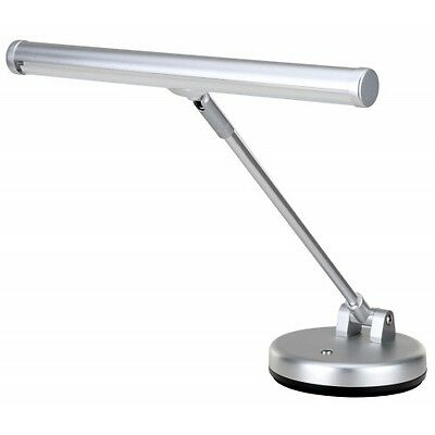 32356 - Showlite lamp piano LED silver matt