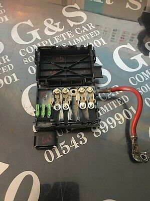Volkswagen Golf Mk4 Battery Fuse Box Terminal 1j0 937 550 AE