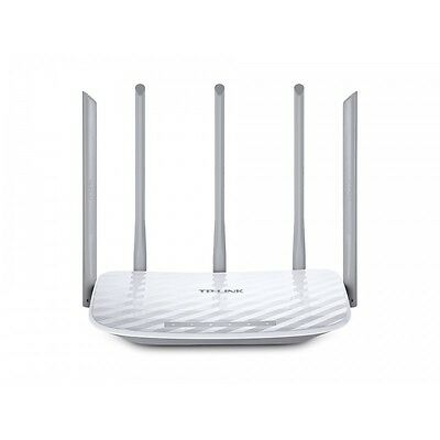 TP-LINK AC 1350 Dual-band (2.4 GHz / 5 GHz) Fast Ethernet Blanc