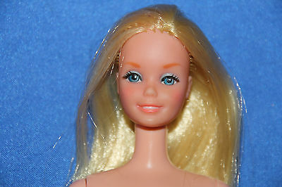 rare european Partytime Barbie,#9925 real eyelashes 1979