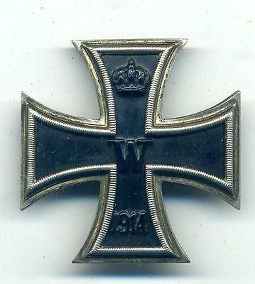 German WWI Iron Cross 1st Class, for 1914-18 War,For Acts of Highest Bravery