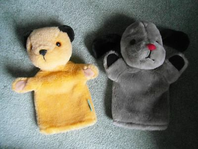 Vintage Patsy B Sweep and a Sooty Hand Puppet Glove Puppets English Traditional