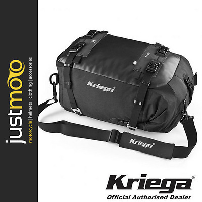 Kriega US 30 Drypack 30 Litre Waterproof Motorcycle Tailpack Luggage Kreiga UK