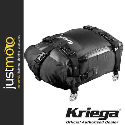 Kriega US 10 Drypack 10 Litre Waterproof Motorcycle Tailpack Luggage Kreiga UK