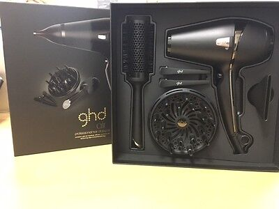 GENUINE GHD Air Kit BNIB GHD Warranty - great set with hairdryer and many extras