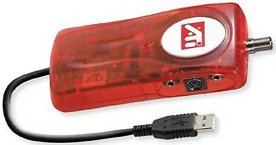 ATI TV Wonder Usb External Tv Tuner - Works Great - IR Input, S-Video Input